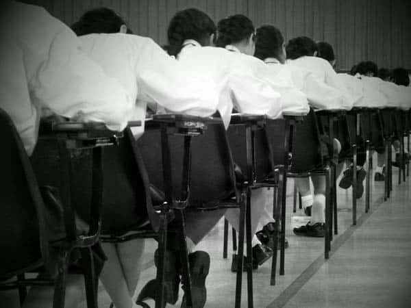 Are examinations a fair way of testing our knowledge?